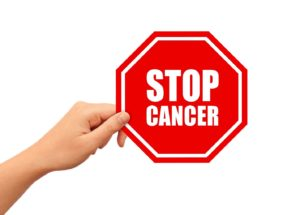 stop cancer sign